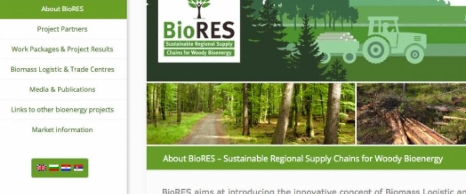 Lansiran Sajt BioRES projekta